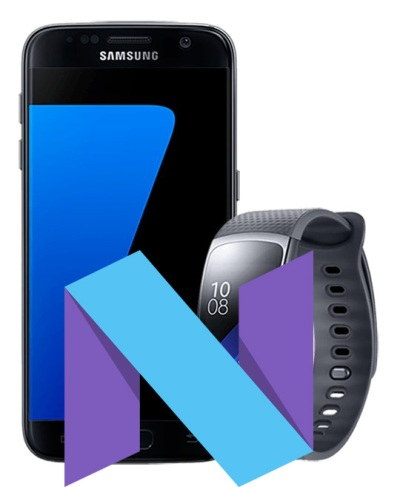 Samsung Galaxy S7 7.1.1 Nougat OTA Update