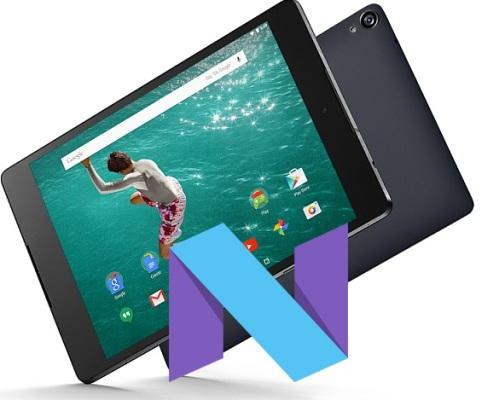 Google Nexus 9 T-Mobile Nougat 7.1.1 OTA Update