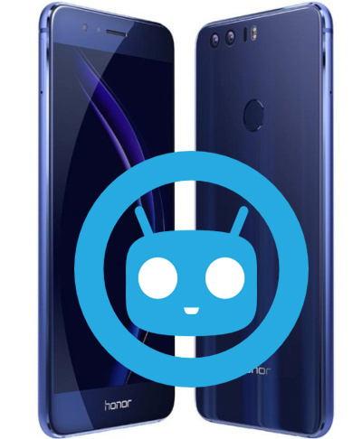 Huawei Honor 8 CyanogenMod Nougat Unofficial ROM