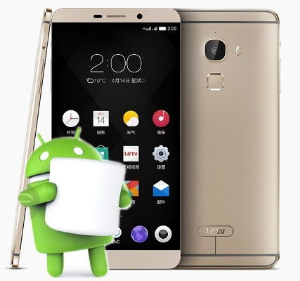 Root LeEco Le Max 2 Marshmallow Install TWRP