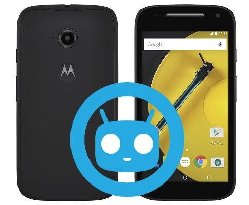 Moto E 2nd Gen CyanogenMod Nougat Official ROM