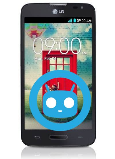 LG Optimus L70 CyanogenMod Nougat Official ROM