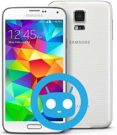 Samsung Galaxy S5 US-Cellular CyanogenMod Nougat Official ROM