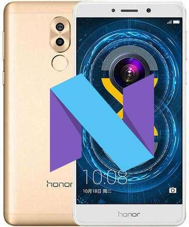 Huawei Honor 6X Nougat Beta Update