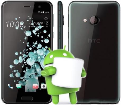 Root HTC U Play Marshmallow Install TWRP