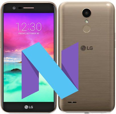 LG K10 2017 Modes and Respective Keys