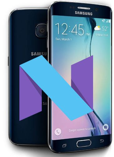 Samsung Galaxy S6 Edge SM-G925F Nougat Official Firmware