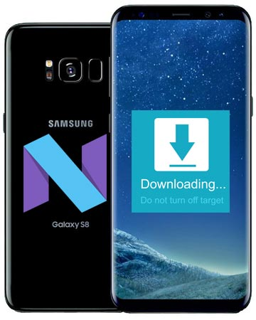 Samsung Galaxy S8 Verizon SM-G950U Nougat Official Firmware