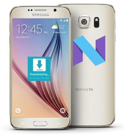 Samsung Galaxy S6 Sprint SM-G920P Nougat Official Firmware