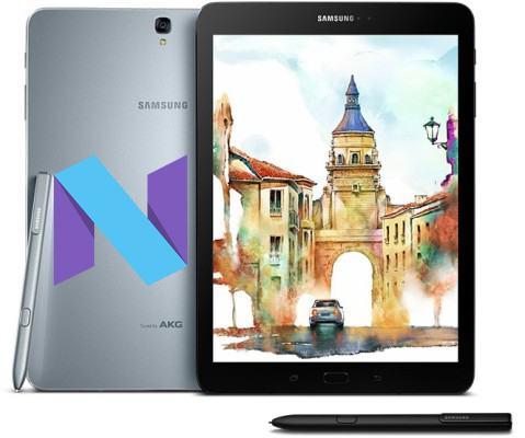 Samsung Galaxy Tab S3 Modes and Respective Keys