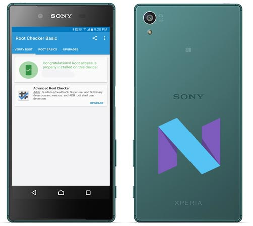 Root Sony Xperia Z5 E6603 Nougat Install TWRP Recovery