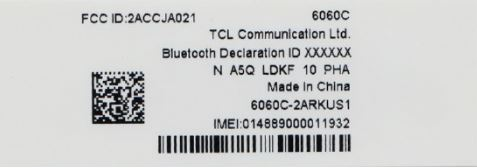 Alcatel Idol 5 Cricket Clears FCC Proof