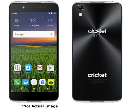 Alcatel Idol 5 Cricket Clears FCC