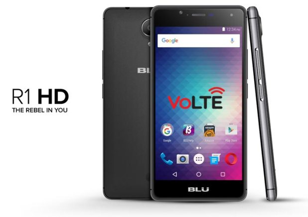 Blu R1 HD T-Mobile VoLTE OTA Update