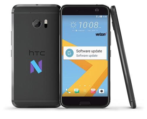 HTC 10 Verizon May 2017 OTA Update