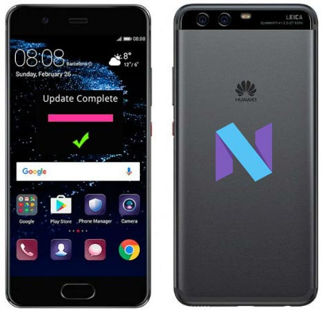 Huawei P10 Plus B133 VKY-L09 Nougat Firmware