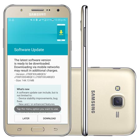 Samsung Galaxy J7 SM-J700F May 2017 OTA