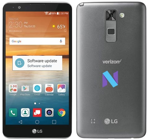LG Stylo 2 Verizon Will Get Nougat Update