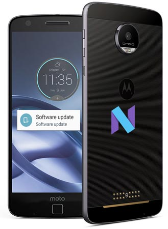 Moto Z Force Droid Edition Verizon May 2017 OTA