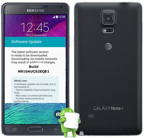 Samsung Note 4 AT&T SM-N910A May 2017 OTA