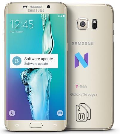 Samsung Galaxy S6 Edge Plus T-Mobile SM-G928T Nougat OTA
