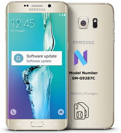 Samsung Galaxy S6 Edge Plus SM-G9287C Nougat OTA