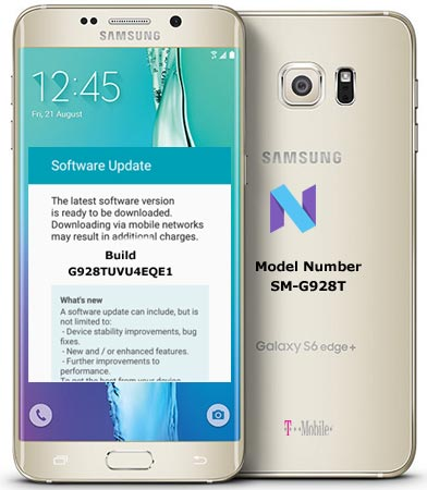 Samsung S6 Edge Plus T-Mobile SM-G928T May 2017 OTA