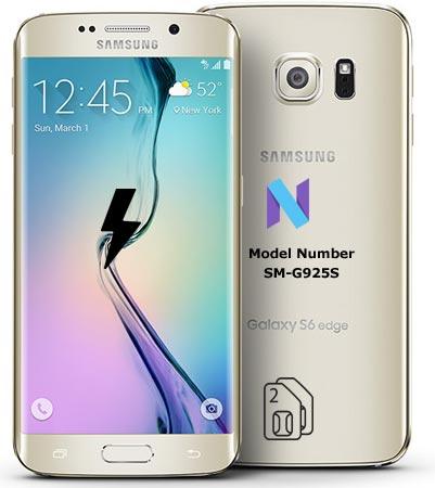 Samsung Galaxy S6 Edge SM-G925S Nougat Firmware