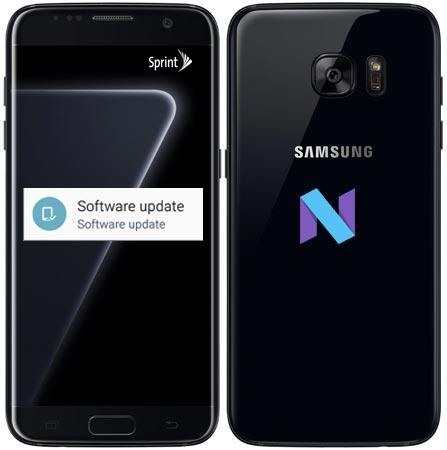 Samsung Galaxy S7 Edge Sprint G935PVPU4BQD2 OTA