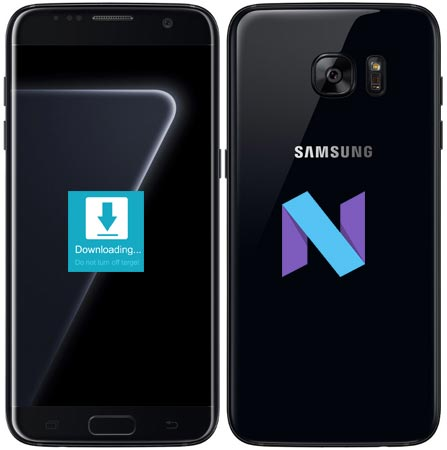 Samsung Galaxy S7 Edge Sprint SM-G935U Nougat Official Firmware