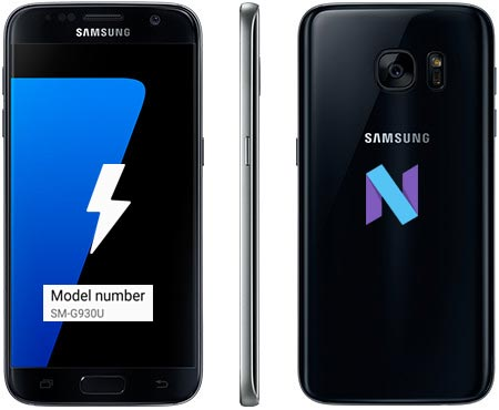 Samsung Galaxy S7 T-Mobile SM-G930U Nougat Official Firmware