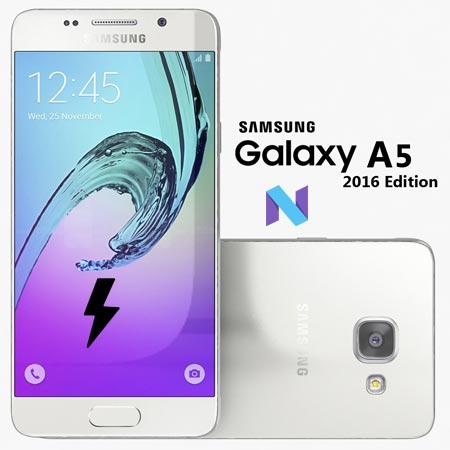 Samsung Galaxy A5 2016 SM A510F Nougat Official Firmware
