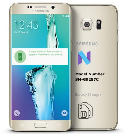 Root Samsung Galaxy S6 Edge Plus SM-G9287C Nougat