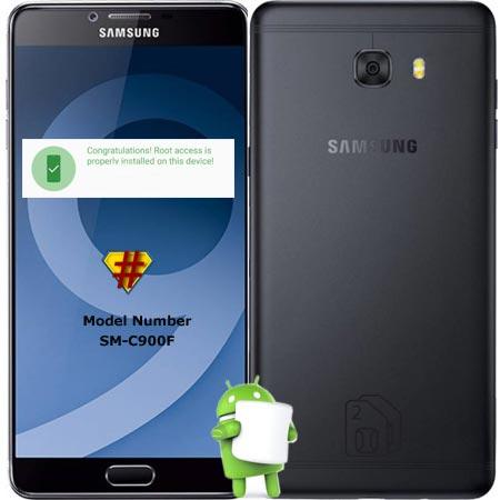 Root Samsung Galaxy C9 Pro SM-C900F Marshmallow