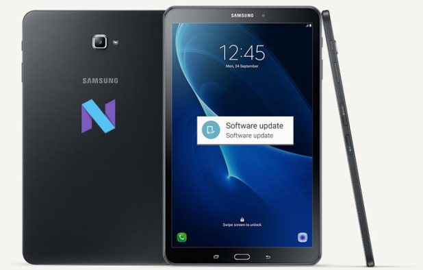 Samsung Galaxy Tab A SM-P585 Nougat OTA