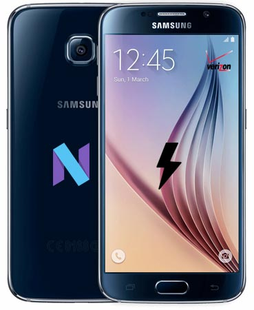 Samsung Galaxy S6 Verizon SM-G920V Nougat Official Firmware