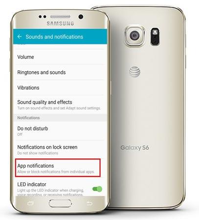 Setup Custom Notification Ringtone Android