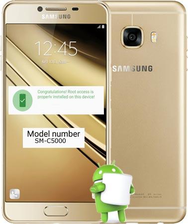 Root Samsung Galaxy C5 SM-C5000 Marshmallow