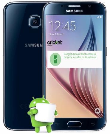 Root Samsung Galaxy S6 Cricket SM-G920AZ Marshmallow