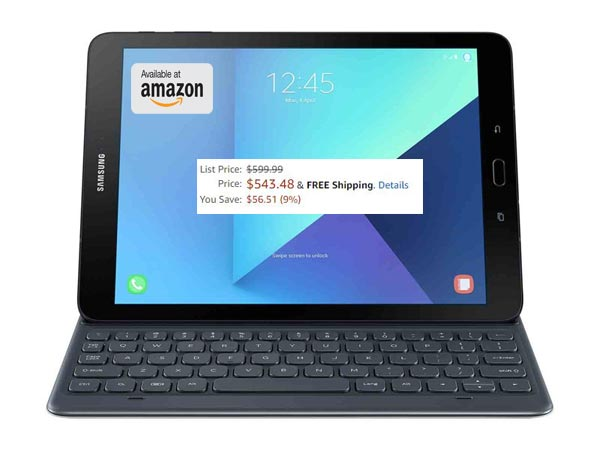 Samsung Galaxy Tab S3 May 2017 Deal Via Amazon US