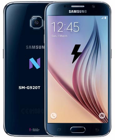 Samsung Galaxy S6 T-Mobile SM-G920T Nougat Firmware