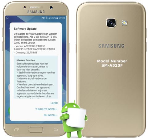 how to download french rom galaxy a5 2017