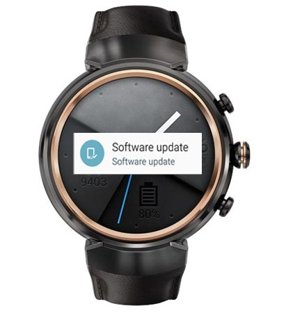 ASUS ZenWatch 3 Android Wear 2.0 OTA