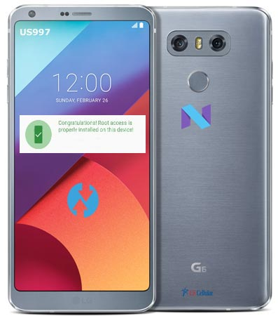 Root LG G6 US997 US Cellular Nougat Install TWRP
