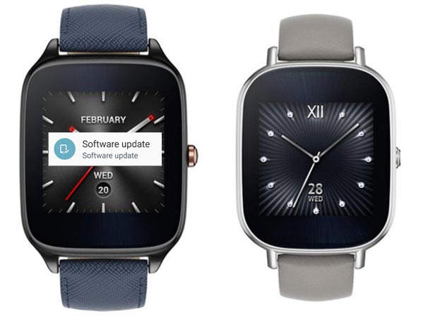 ASUS ZenWatch 2 Android Wear 2.0 OTA