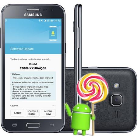 Samsung Galaxy J2 SM-J200H August 2017 OTA