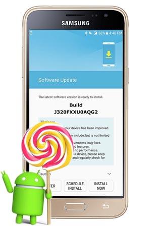 Samsung Galaxy J3 2016 SM-J320F August 2017 OTA
