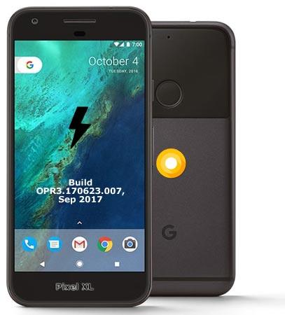 Google Pixel XL OPR3.170623.007 Oreo 8.0