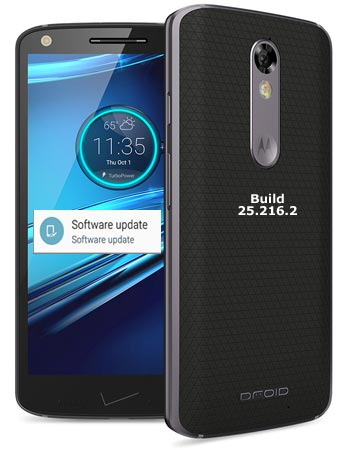 Droid Turbo 2 Verizon September 2017 OTA Update