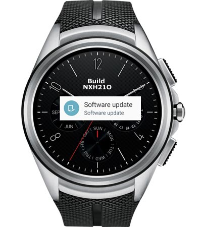 LG Watch Urbane 2 AT&T Android Wear 2.0 OTA